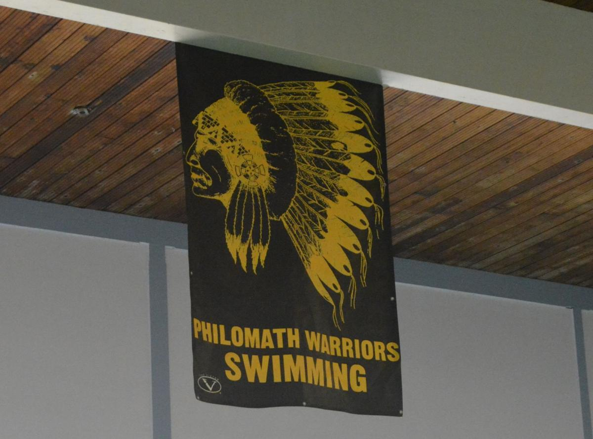 PHS swimming banner