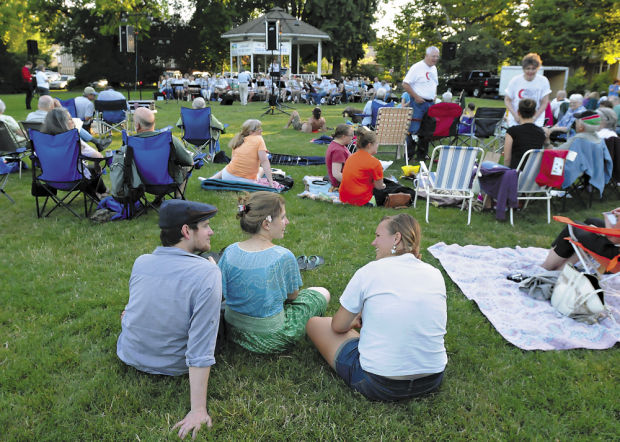Summer concerts in the park challenge local musicians