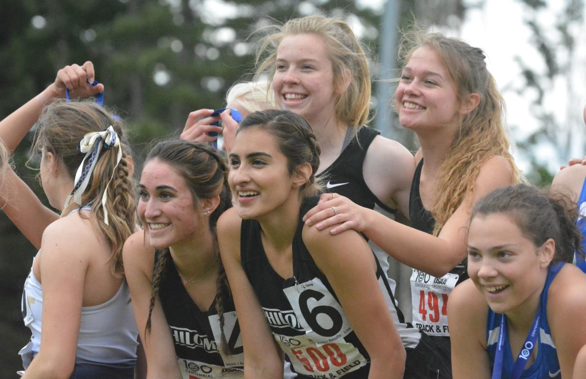 PHS track: 4-by-400 relay