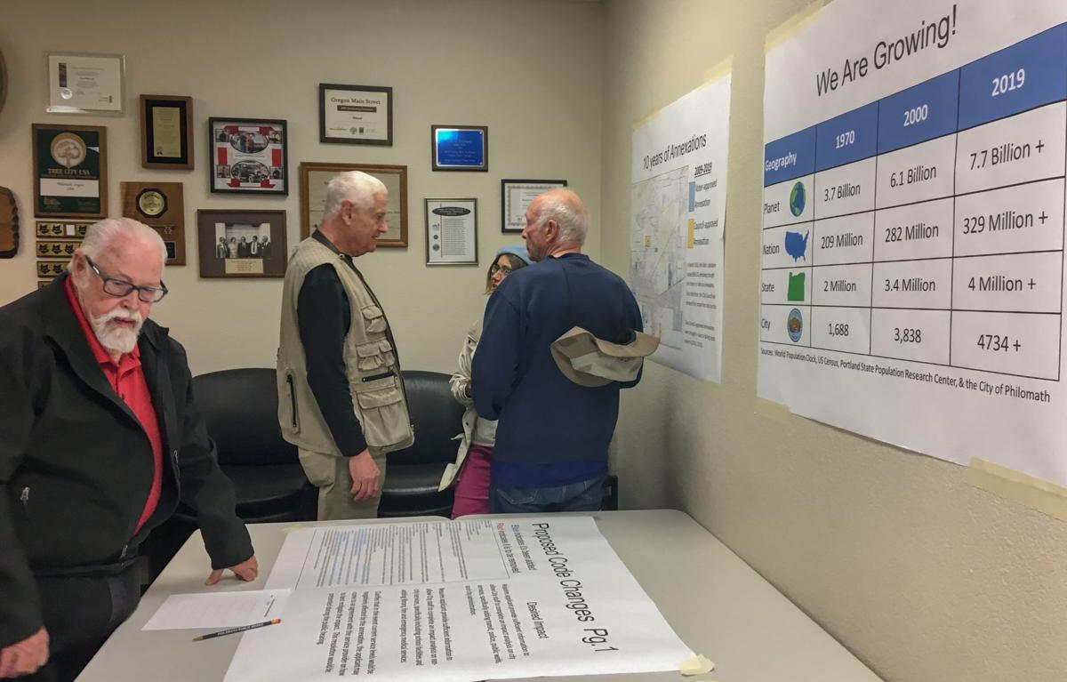 Planning commission open house