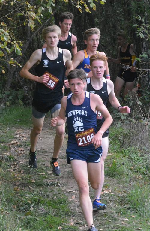 PHS cross-country: Grant Hellesto, Brody Bushnell, Brody Gerig