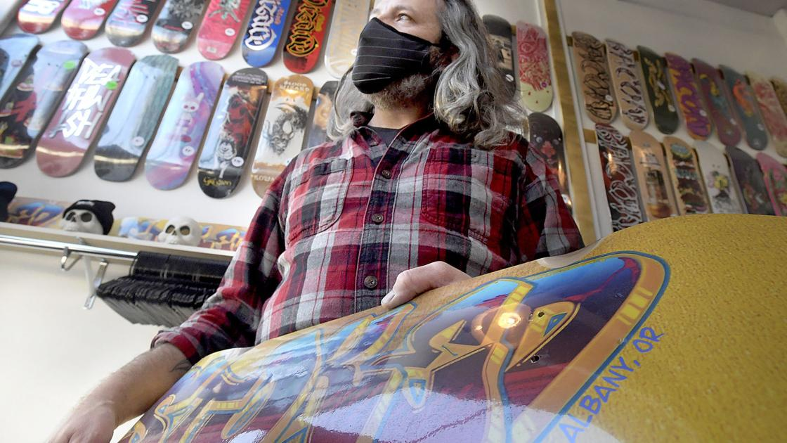 New Albany skate shop has owner Stoked – Corvallis Gazette Times