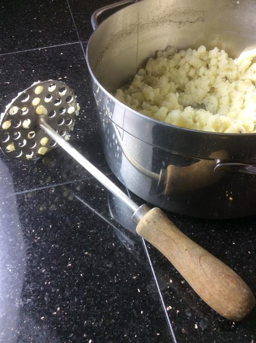 Cozy up with mashed potatoes