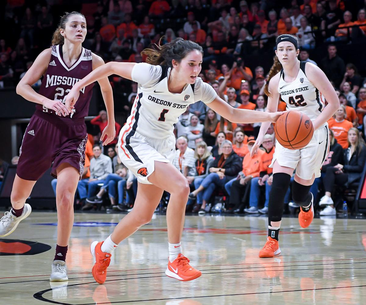 Osu Women S Basketball Beavers Aggressive Approach Has