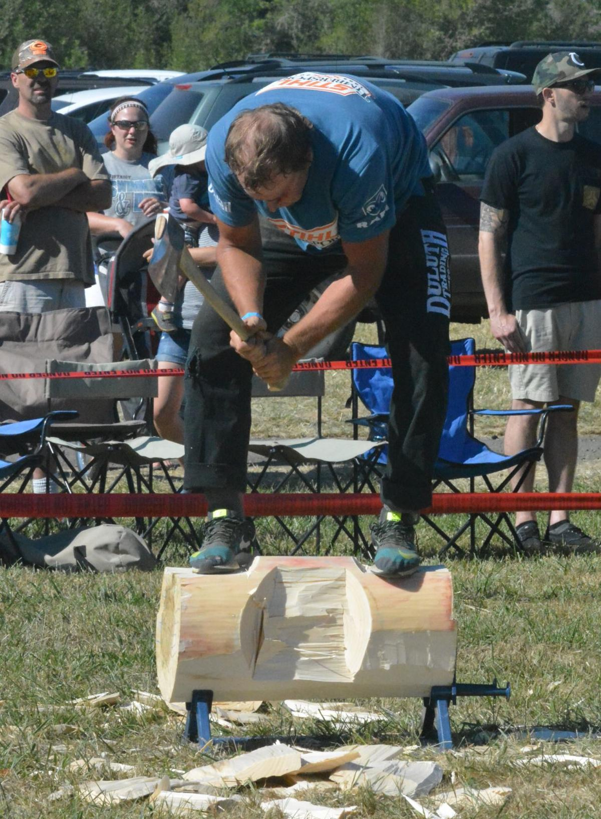 Frolic & Rodeo: Lumberjack competition 2017