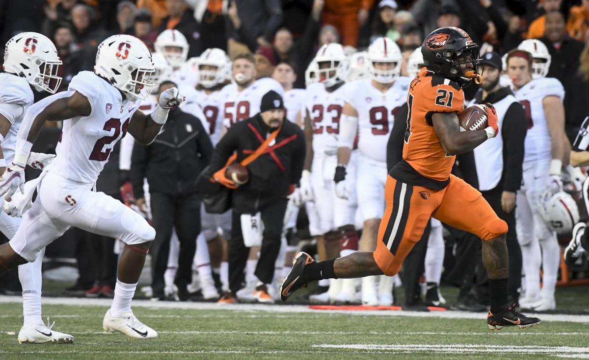 OSU Stanford football Pierce TD