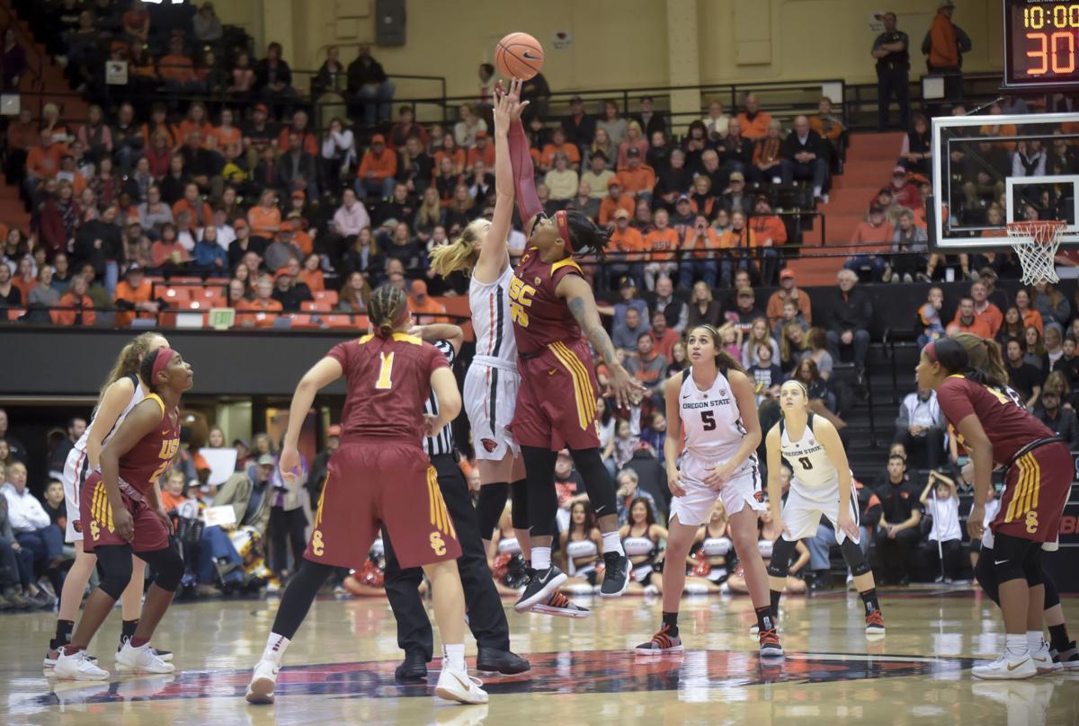 Gallery: OSU vs USC womens basketball 01