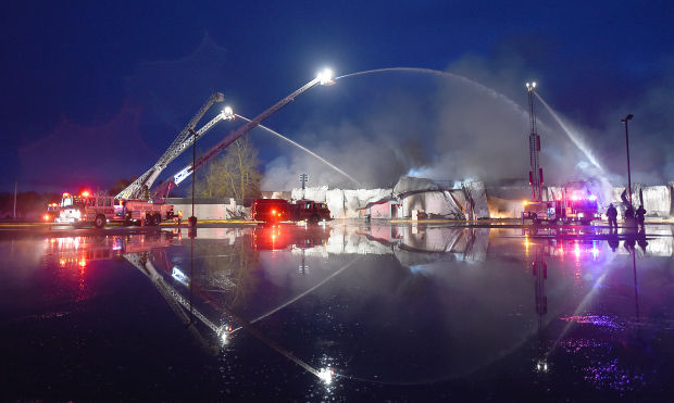 South Albany High School Fire