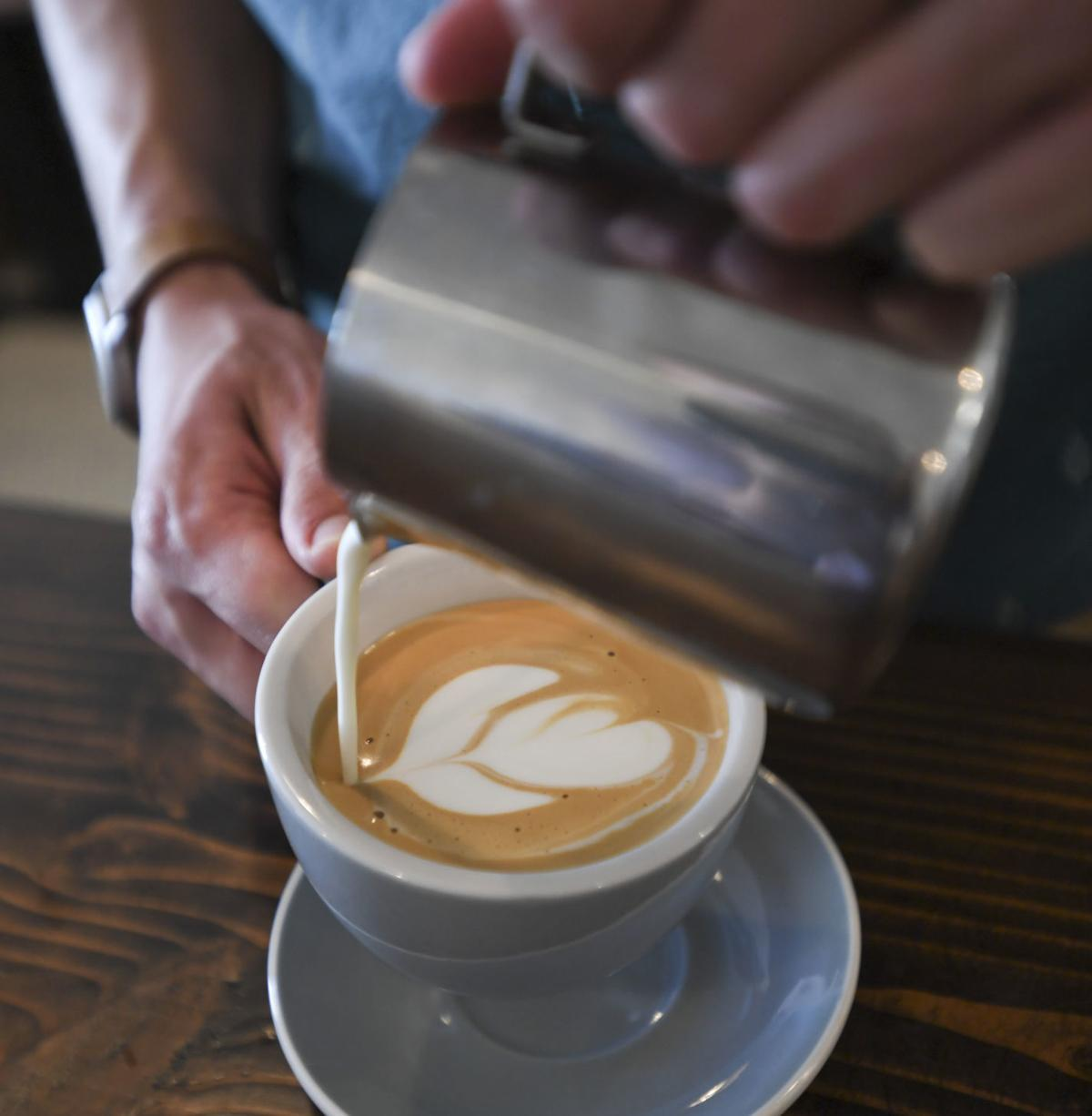 LC rest Margin Coffee print
