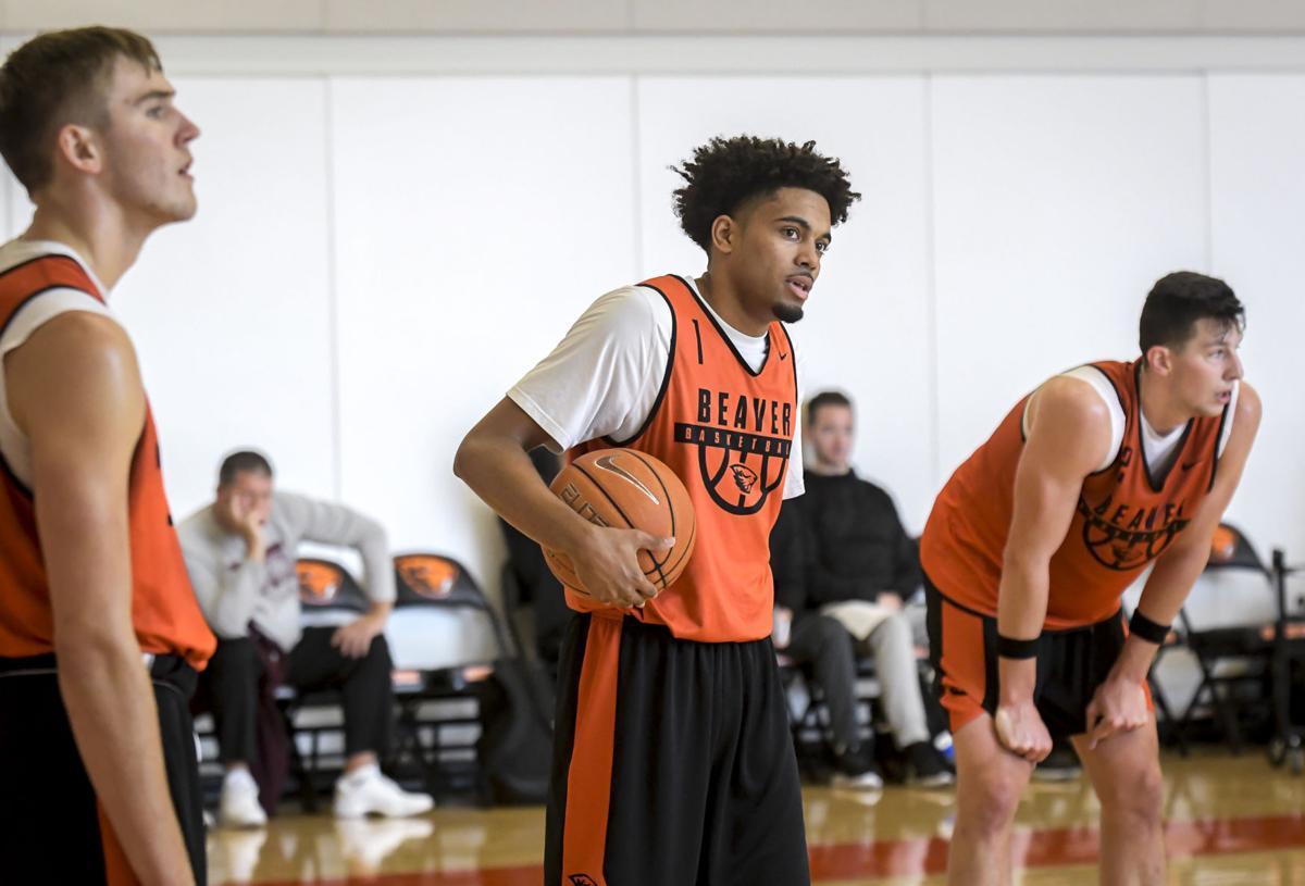 OSU Men's Basketball Practice 02