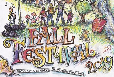 Fall Festival 2019 poster by Earl Newman