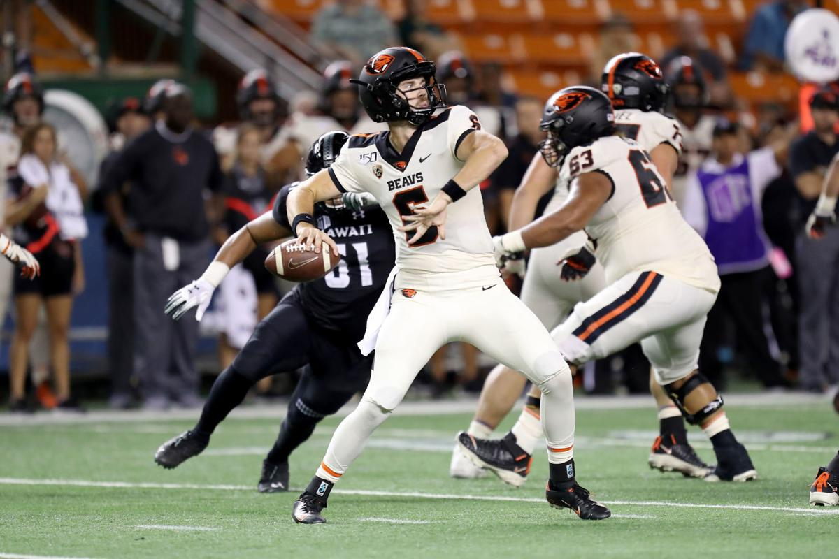 NCAA Football: Oregon State Beavers vs Hawai'i Rainbow Warriors