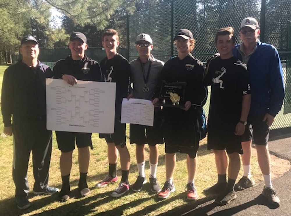 PHS boys tennis: District champions