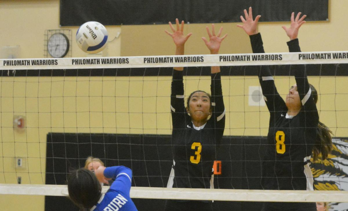 PHS volleyball: Ashlynn Barron, Emma Pankalla