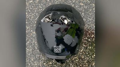 FL Motorcyclist Lightning Strike