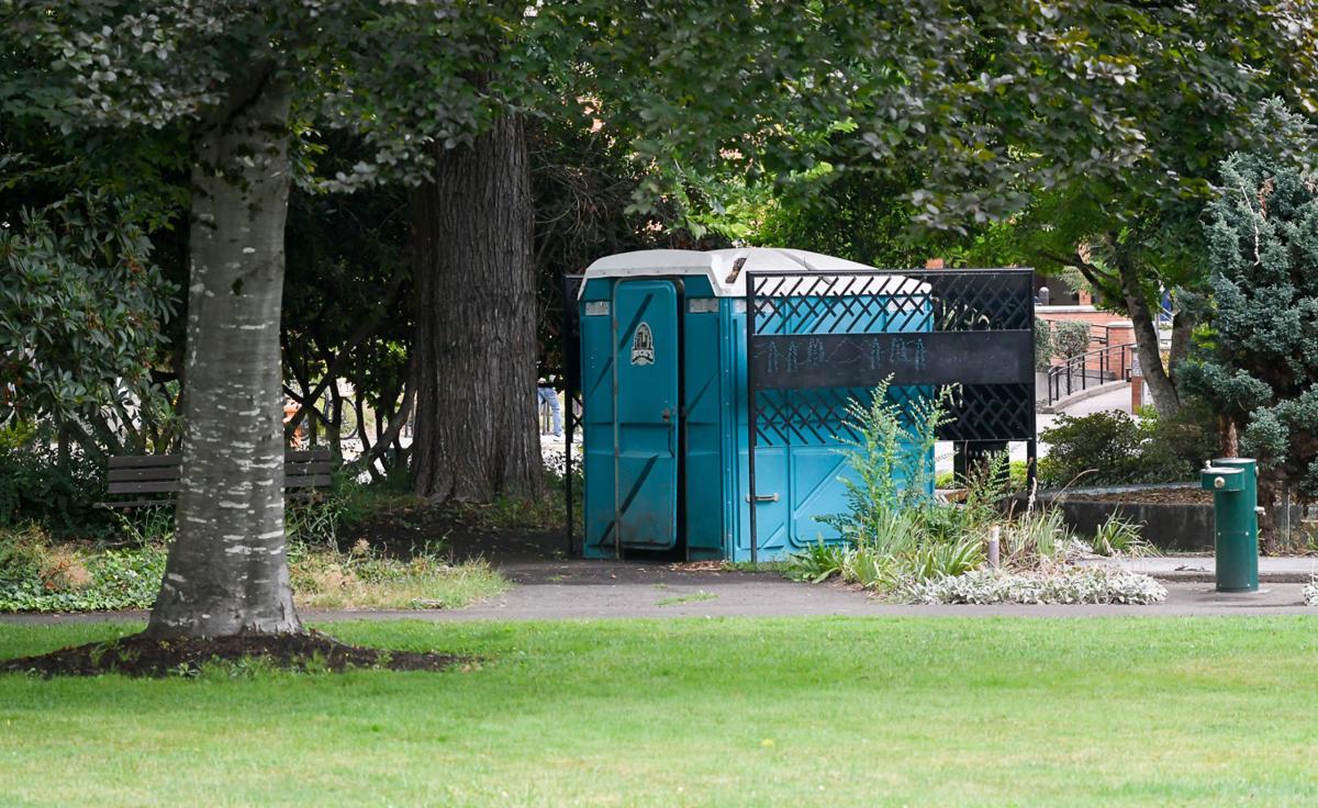 City property changes Central Park restroom