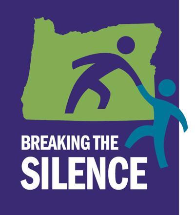 Breaking the Silence logo (w/back)