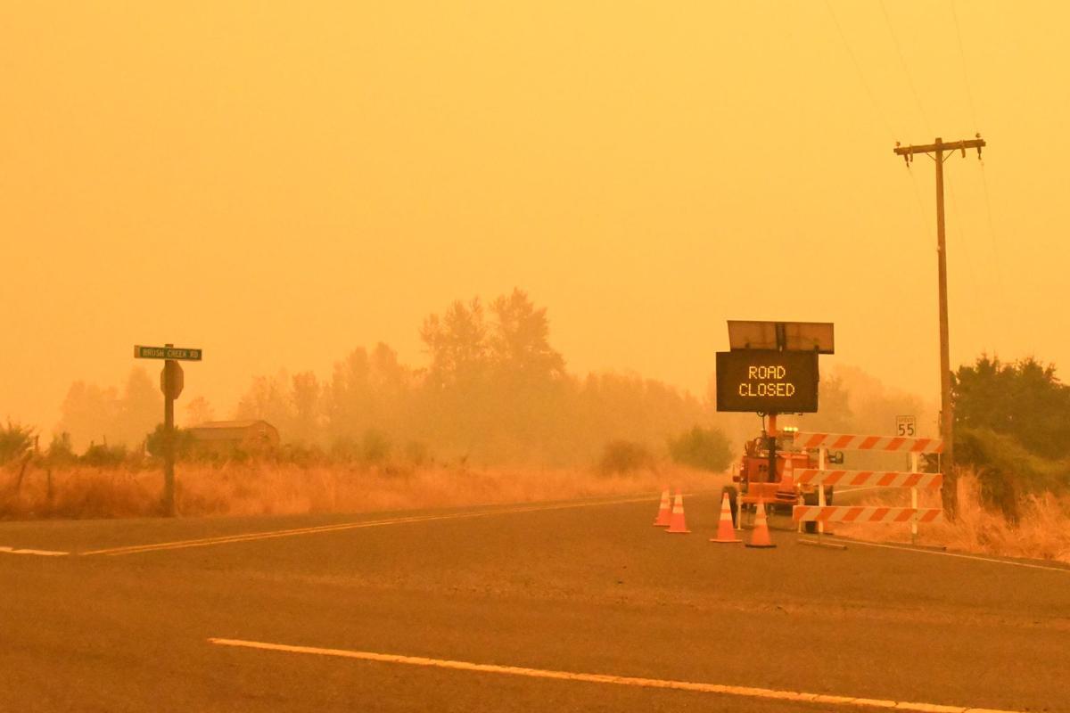 Brush Creek Road Evacuations