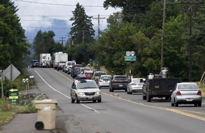 Highway 20 gas leak