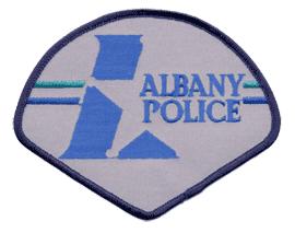 Albany Police Logo stock