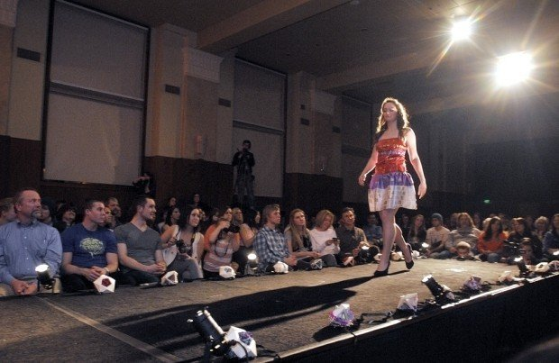 Recycled Fashion Show A Hit At Oregon State Local Gazettetimes Com