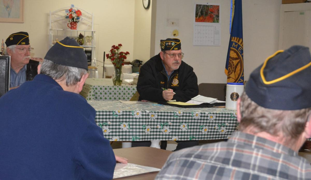 American Legion meeting
