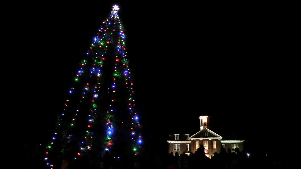 Philomath Christmas Tree Lighting 2017