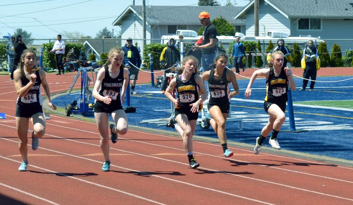 PHS track: Maggie Ross, Phaedra Hinds-Cook, Lily Bogard