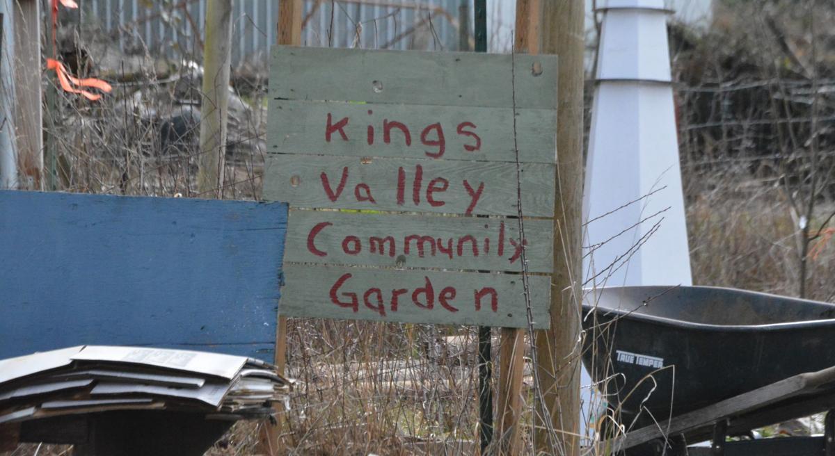 KVCS community garden sign