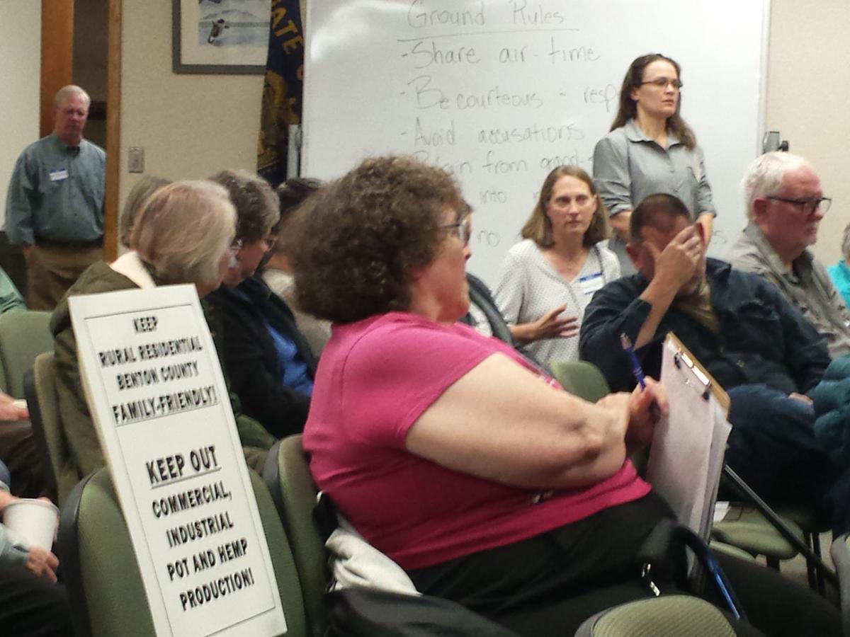 Corvallis zoning meeting