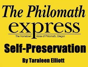 Philomath Express Self-Preservation logo