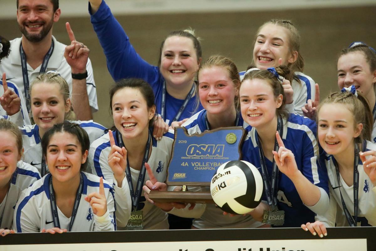 Gallery Sweet Home Vs Valley Catholic State Volleyball Championship Game Local Gazettetimes Com