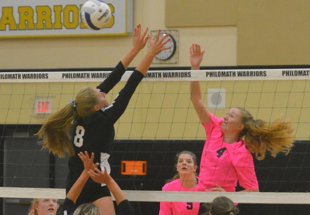 PHS volleyball: Sage Kramer