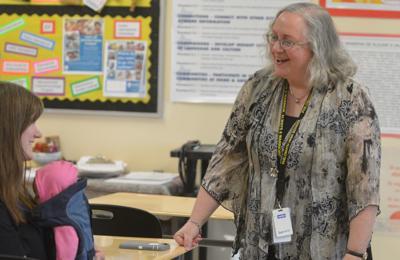 PHS Spanish teacher Cindy Graff