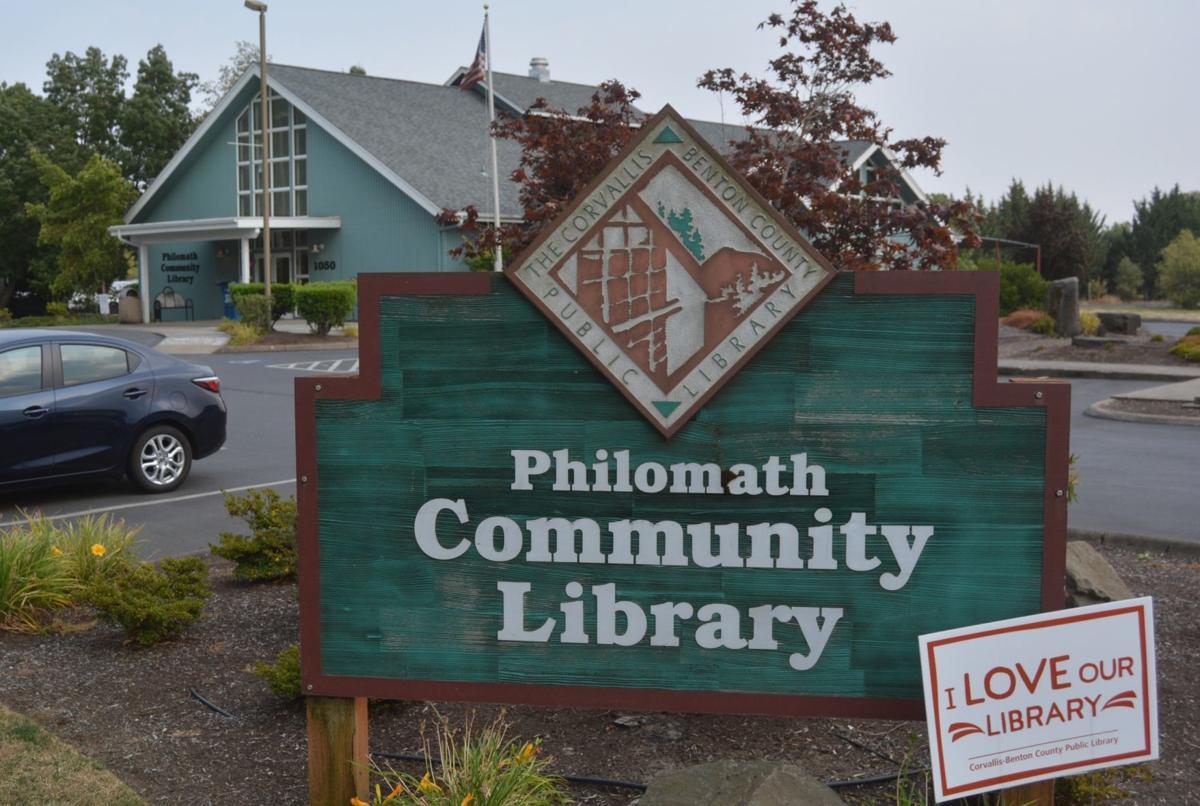 Philomath Community Library artwork