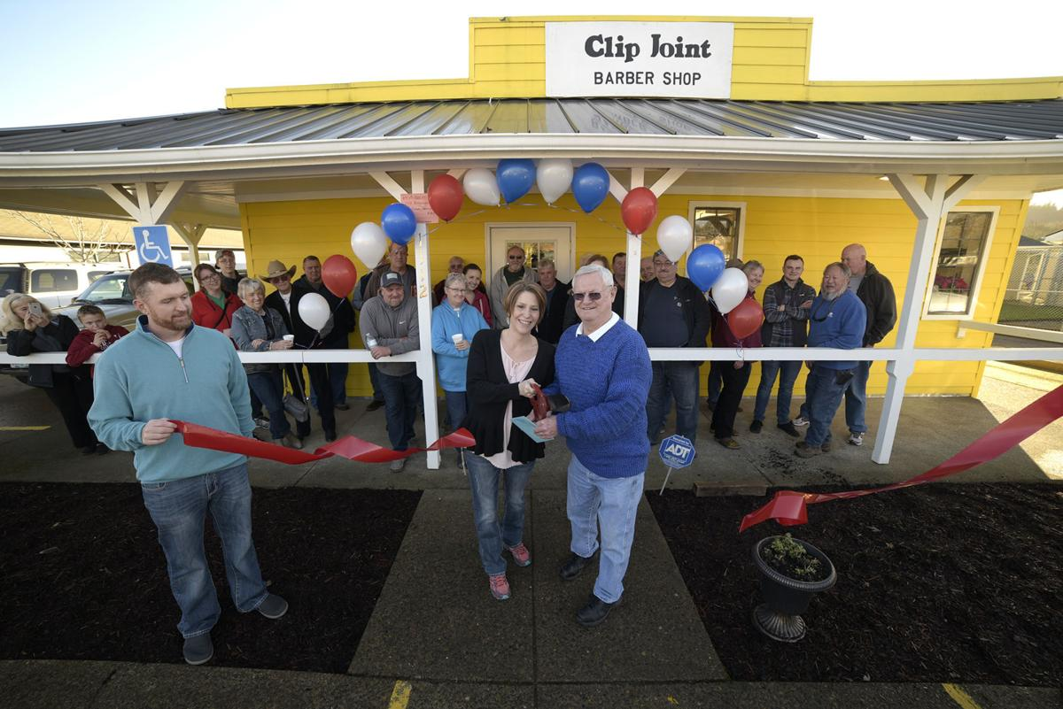 Clip Joint ribbon-cutting