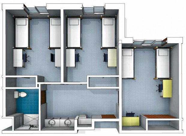 Osu Residence Hall Plans Evolve To Meet New Requirement