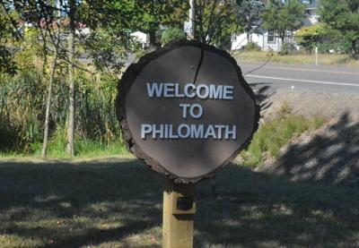 Welcome to Philomath sign artwork
