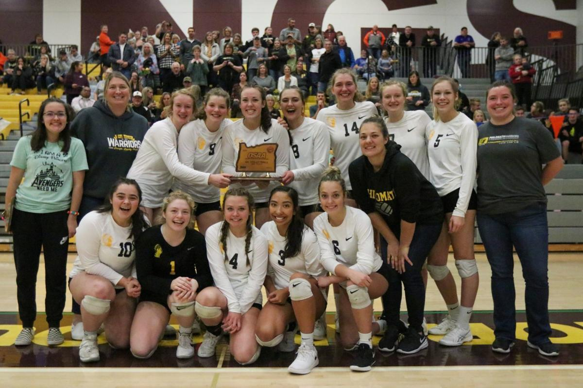 PHS volleyball: Third-place trophy