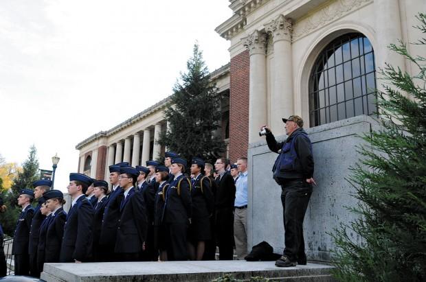 ROTC students recognize Oregon's MIAs