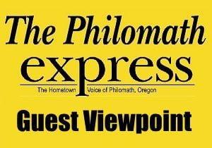 Philomath Express Guest Viewpoint logo