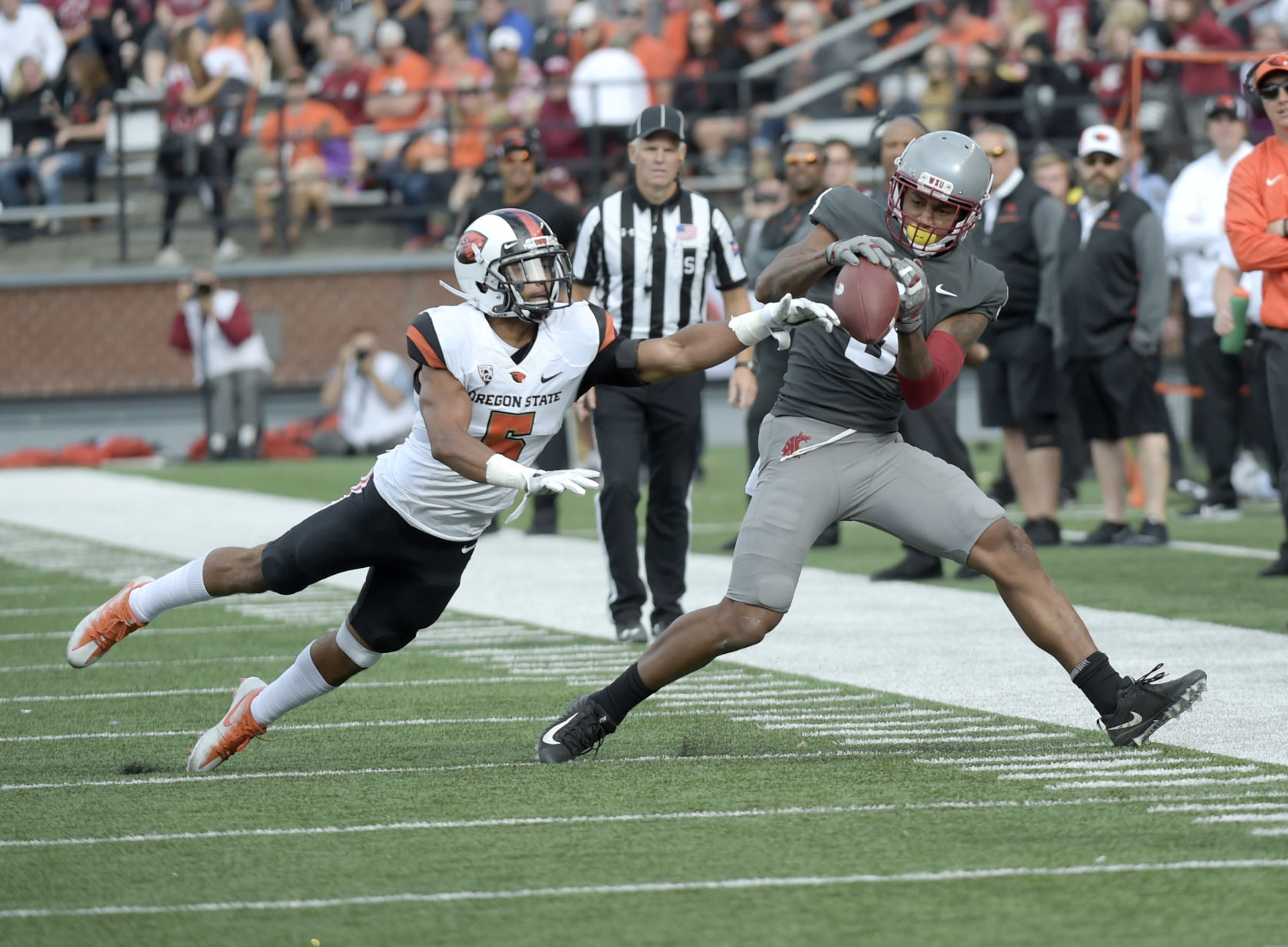 Oregon State vs. Washington State Football