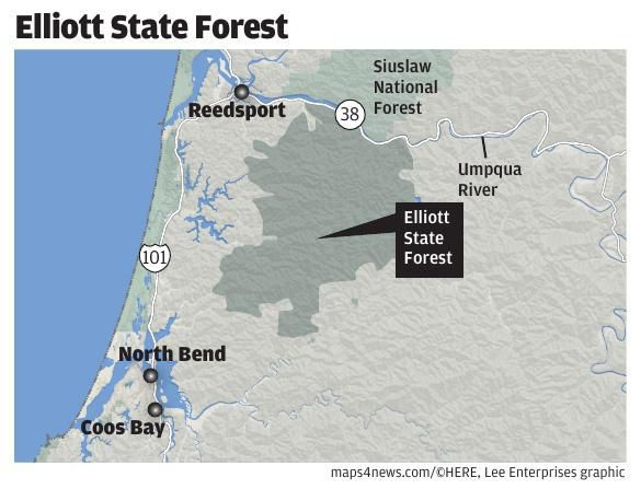 The fight for a forest: OSU's bid to manage Elliott for