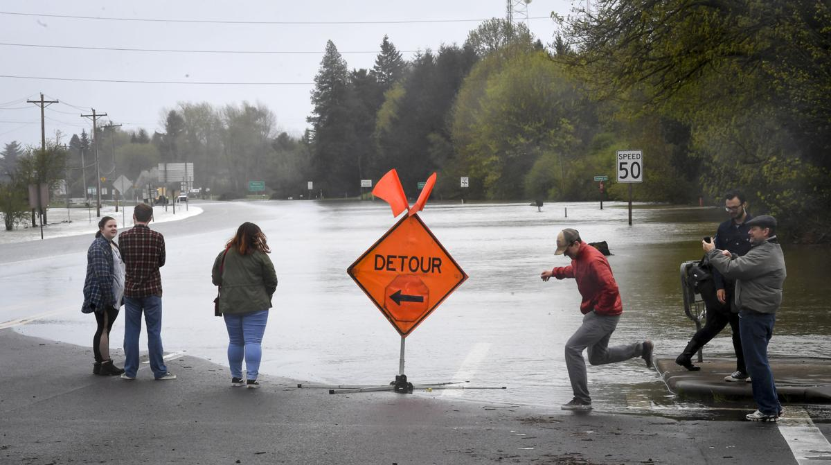 ODOT works to re-open Highway 34 | Local | gazettetimes com