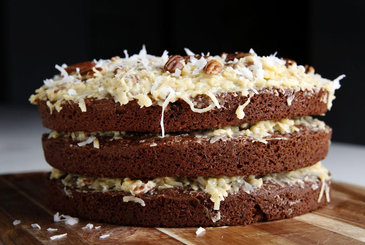 German Chocolate Cake actually is Texan