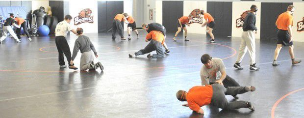 OSU wrestling room 2011