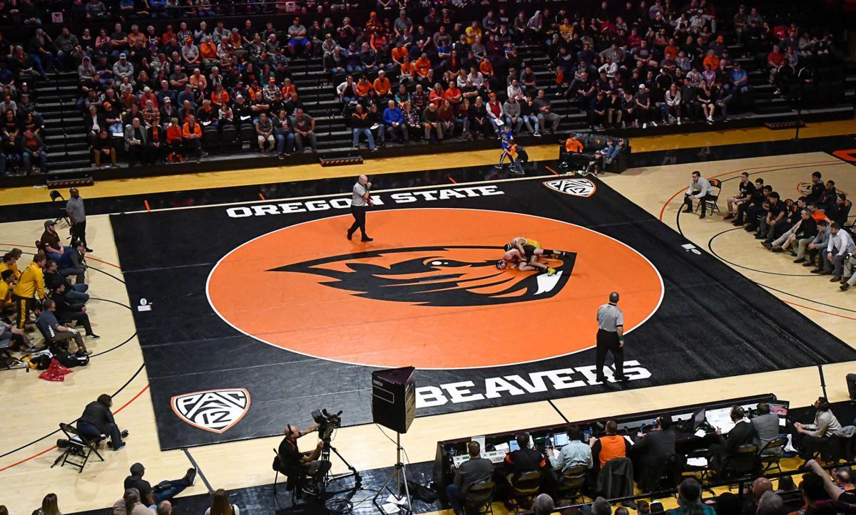 OSU Stock PIX: Oregon State wrestling