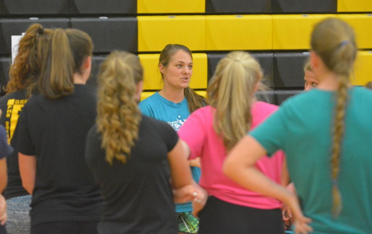 PHS volleyball: Coach Denee Newton