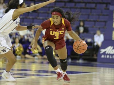 NCAA Women's Basketball 2018: USC vs Washington JAN 28