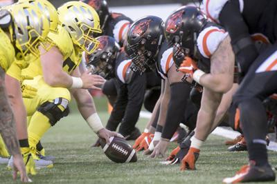 Oregon offensive line